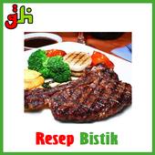 Resep Masakan Bistik icon