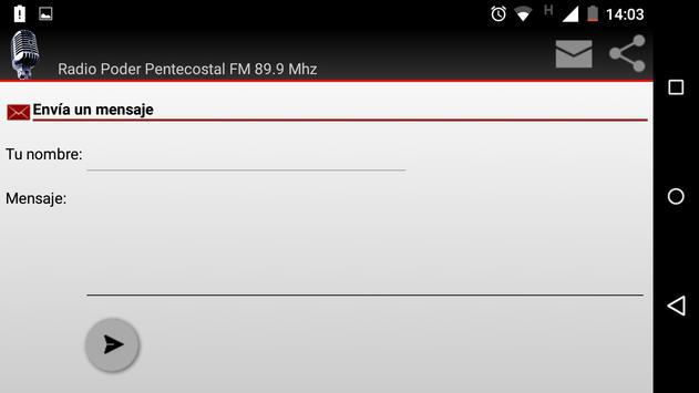 Radio Cristiana Pentecostal apk screenshot