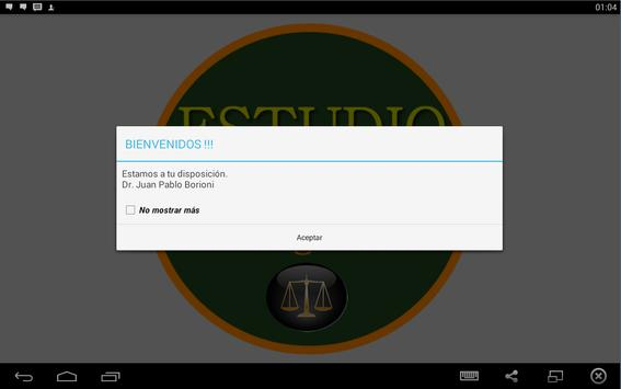 Abogados3a apk screenshot