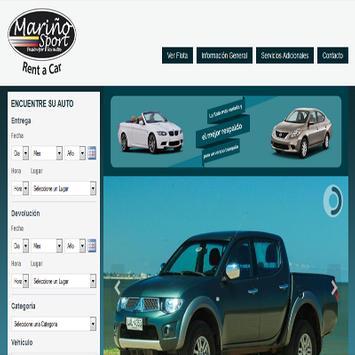 Rentadora de Autos apk screenshot