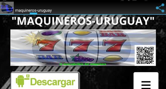 maquineros-uruguay apk screenshot