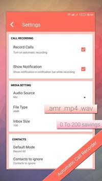 Auto Call recorder pro apk screenshot