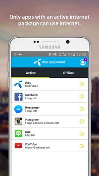 dtac AppControl Demo (Unreleased) apk screenshot