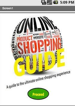 Online Shopping Guide apk screenshot