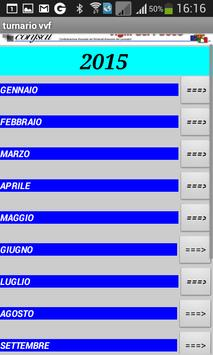 TURNARIO CONFSAL VV.F apk screenshot