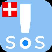 SWISS HELP Emergency Call icon