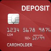 DEPOSIT CARD icon