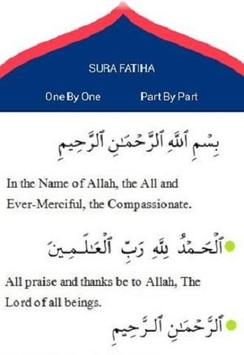 Sura Fatiha apk screenshot