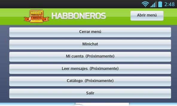 HabboNeros v1 apk screenshot