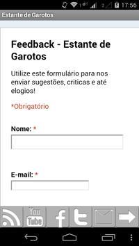 Estante de Garotos apk screenshot
