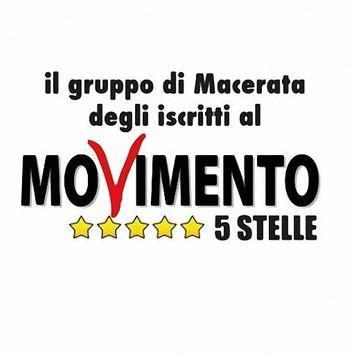 Movimento 5 stelle Macerata poster