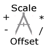 Harris Scale and Offset Calc icon