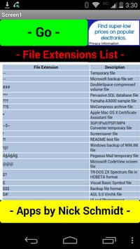 Complete File Extensions List poster
