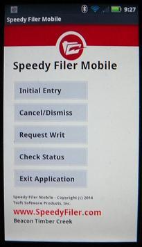 Speedy Filer Mobile poster