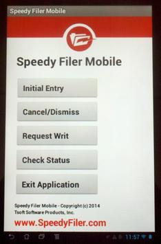 Speedy Filer Mobile apk screenshot