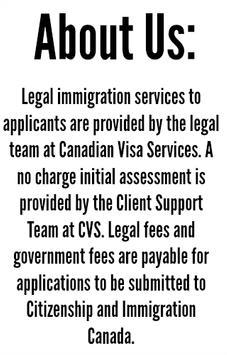 Canadian Visa | Express Entry poster