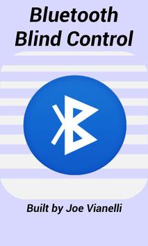 Bluetooth Blind Control poster