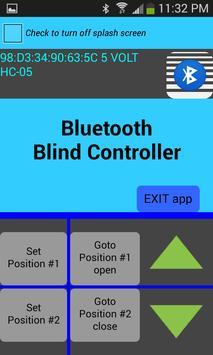 Bluetooth Blind Control apk screenshot