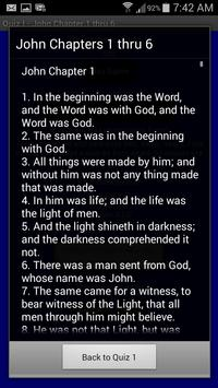 Bible Count Down Quiz I apk screenshot