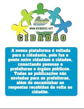 RIOBRASIL CIDADÃO apk screenshot