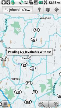 Kingdom Hall Locator apk screenshot