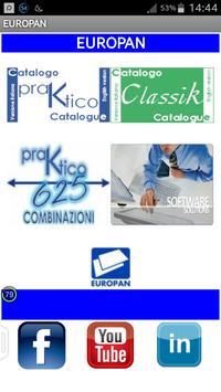 Catalogo EUROPAN poster