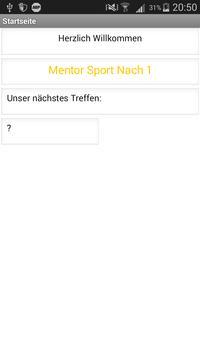 Mentor Sport Nach 1 apk screenshot