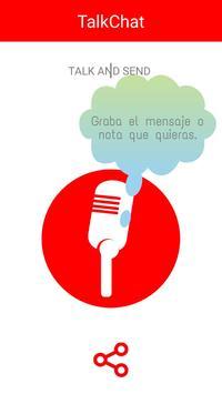 TalkChat poster