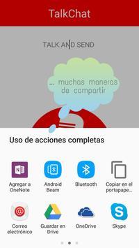 TalkChat apk screenshot