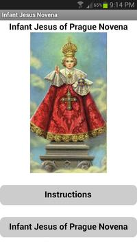 Infant Jesus of Prague Novena poster