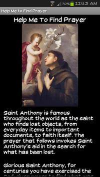 Saint Anthony of Padua apk screenshot