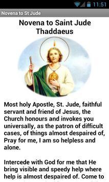 Saint Jude Thaddeus apk screenshot