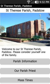 St Therese Parish, Padstow poster