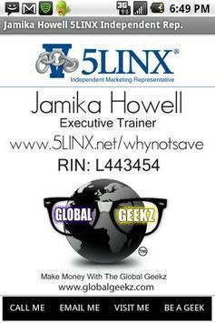 Jamika Howell 5LINX (IMR) poster