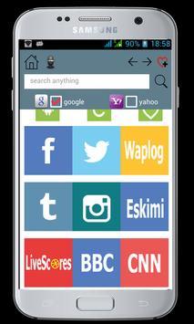Internet Browser apk screenshot