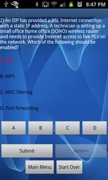 CompTIA A+ 801 Practice Test apk screenshot