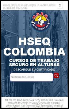 HSEQCOLOMBIA poster