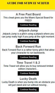 Unofficial Subway Surfer Guide apk screenshot