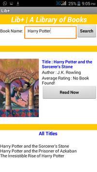 Lib+ | Your Book Search Tool apk screenshot