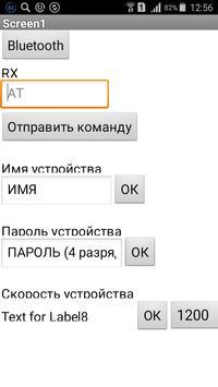 Bluetooth prog HC06 apk screenshot