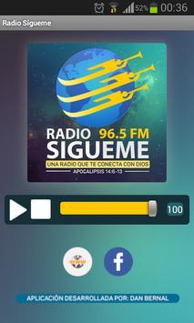 Radio Sígueme poster