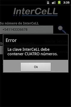 InterCeLL apk screenshot