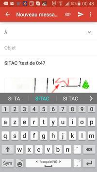 SITAC apk screenshot