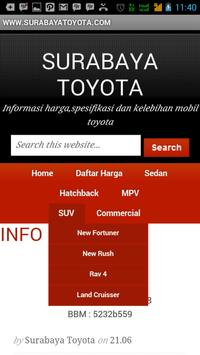 Surabaya TOYOTA apk screenshot