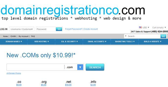 Domain Name Registrations apk screenshot
