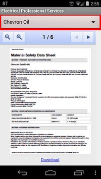 EPS Safety Data Sheets poster