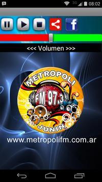 FM METROPOLI JUNIN poster