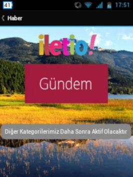 İletio apk screenshot
