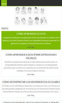 Lenguaje corporal y Gestos poster