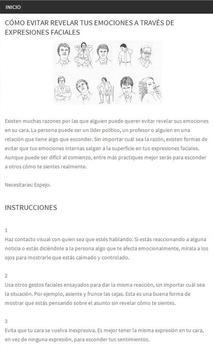 Lenguaje corporal y Gestos apk screenshot